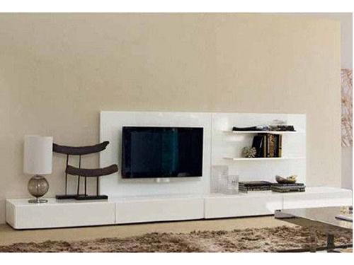 现代简约客厅电视柜 悬空电视柜效果图 组合电视柜效果图