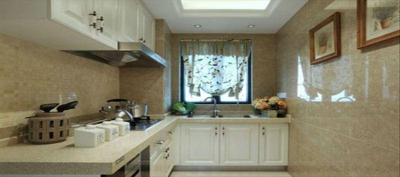 讓你一見鐘情的廚房墻磚裝修效果圖