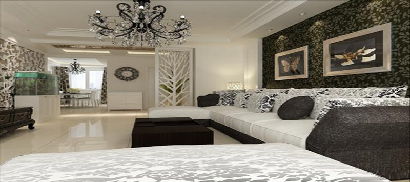 1、空间设计 客厅空间功能应讲求划分合理、协调统一、过渡缓和。现代客厅一般被划分为就餐区、会客区和学习区(或休息区)等。餐厅尽量靠近厨房,方便就餐和上菜,最好用小屏风或人造矮墙与其他功能区分开。会客区的通道要简洁,空间要宽敞,光线要明亮,达到温馨、具有亲和力是主旨。学习区(休息区)应比较安静,靠近客厅某一隅,区域不必太大,营造舒适感却很重要。 2、软装搭配 包括植物、布艺、小摆设等各类装饰品,彰显主人的个性与意识。富有生气的植物能给人清新、自然的感觉;布艺制品的巧妙运用能使客厅在整体空间色彩上鲜活起来;